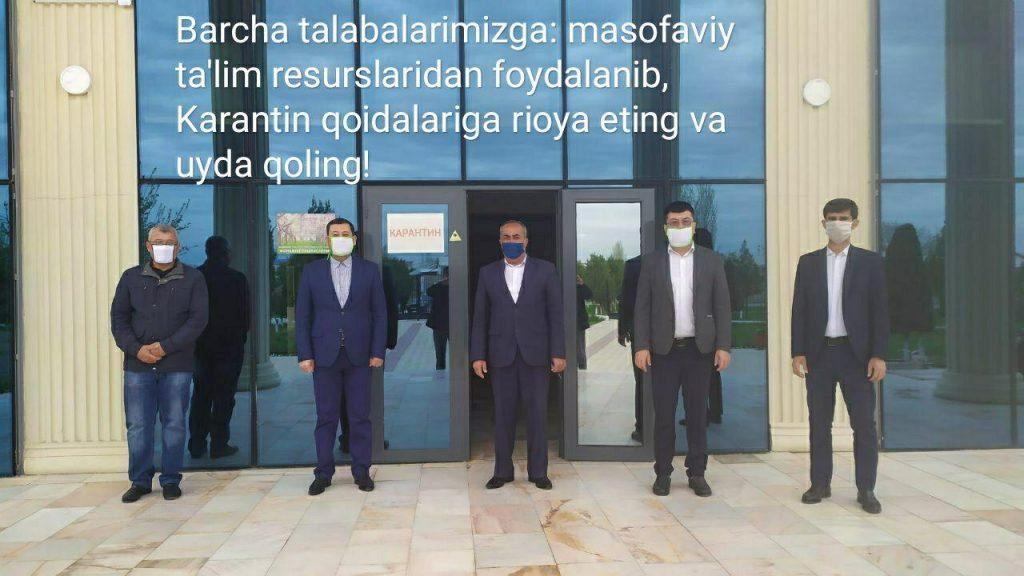 TKTI Shahrisabz filiali talabalariga murojaat: Uyda qoling!